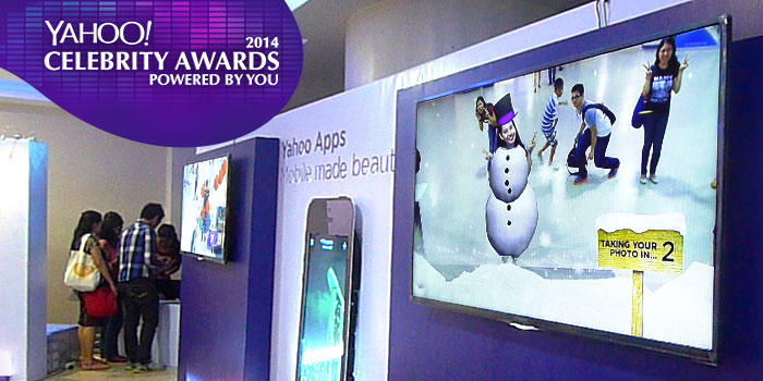 Yahoo! Celebrity Awards - 3D AR Costume