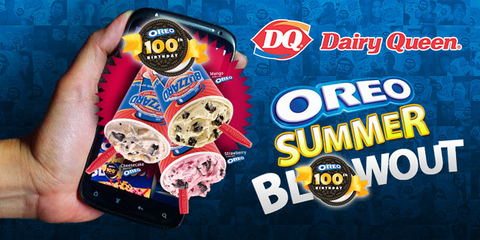 Dairy Queen Oreo Summer Blowout