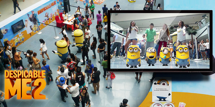 Despicable Me 2 Augmented-Reality