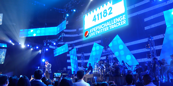 #PepsiChallenge Hashtag Counter