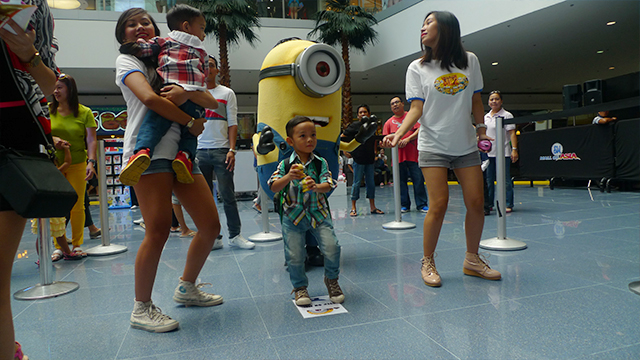 Despicable Me Augmented Reality