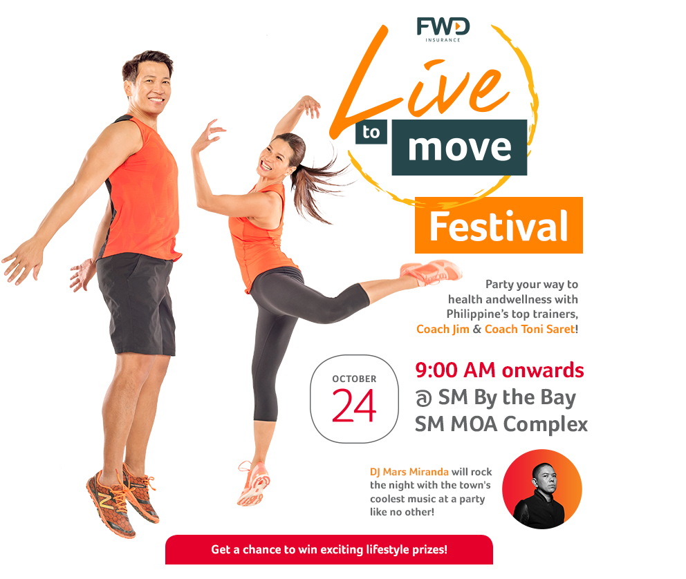FWD Live To Move Campaign - The Hand Creative