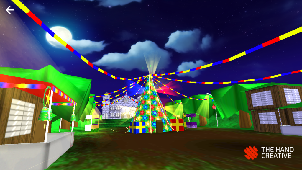 Christmas Quest VR The Hand Creative