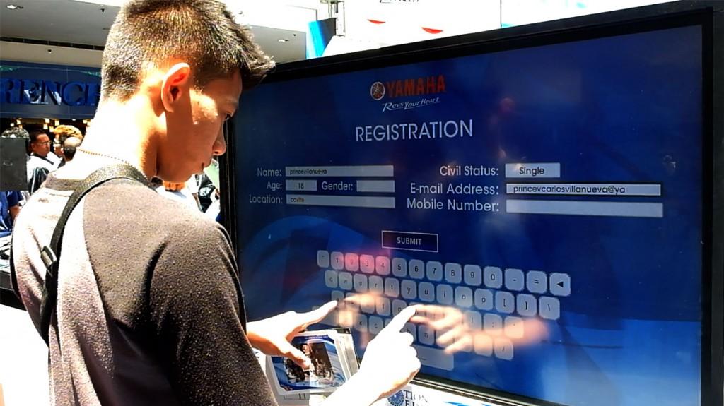 Yamaha Touchscreen Survey Questions