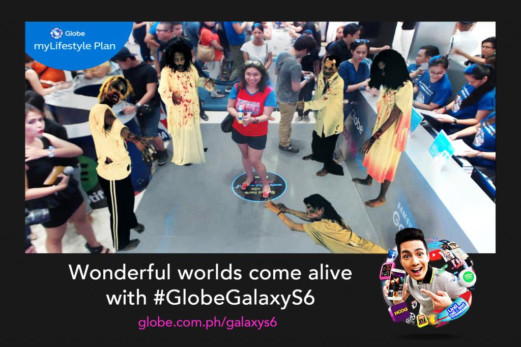 Globe Live Augmented Reality Printout